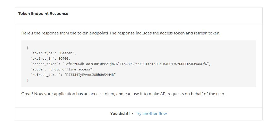 Playing with OAuth and OIDC - getting access token Step 6